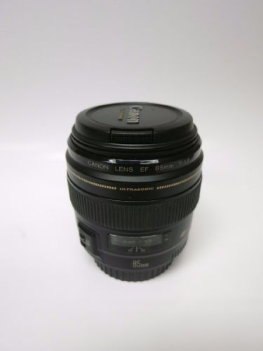 Canon Ultrasonic EF 85mm F/1.8 1:1.8 USM MF/AF SLR Wide Angle Telephoto Lens